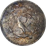Flowing Hair Dollar. 1794. AU-58+.