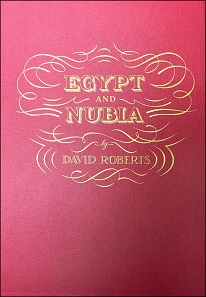 Lot 413: 2010 Folio Society Reprint of Roberts' The Holy Land / Egypt and Nubia. Estimate: 1,000 USD.