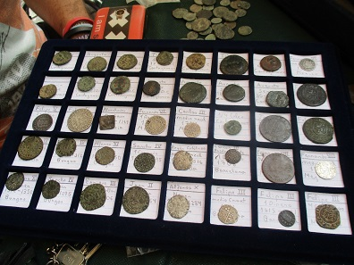 During Operation Pandora police force seized coins stolen from a Spanish museum. Photo: Europol.