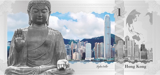 Skyline Dollar: Hong Kong. Foto: © CIT.