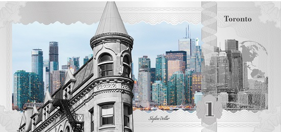 Skyline Dollar: Toronto. Photo: © CIT.