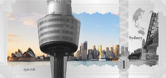 Skyline Dollar: Sydney. Photo: © CIT.