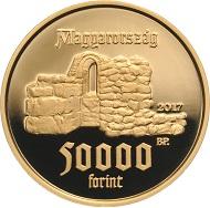 Hungary / 50,000 HUF / Au 986 / 6.982 g / 22.0 mm / Design: Enikö Szöllössy / Mintage: 2,000.