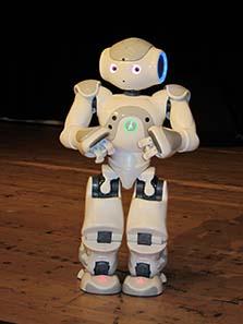 Auf der World Money Fair war der kleine Roboter Hansi der beliebteste Botschafter der Münze Österreich. Foto: UK.