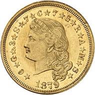 Nr. 191: USA. 4 Dollars 1879, Philadelphia.