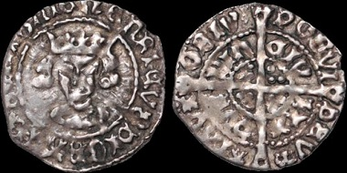 Lot 111: Ireland. Henry VII. AR groat. Late portrait issue. Good Very Fine. Estimate: 650 USD.