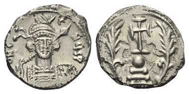 Los 410: Constantinus IV., 668 - 685 n. Chr. Miliaresion, 674-681, Constantinopolis.