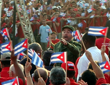 Fidel Castro on May 1, 2005. Photo: Vandrad / Wikimedia Commons / CC BY-SA 3.0