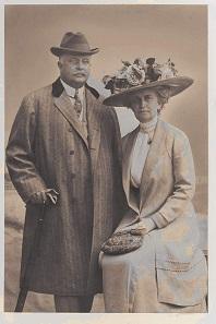 Edward and Florence Libbey.