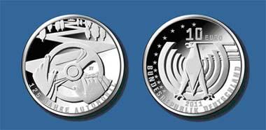 Die neue 10-Euro-Silbermünze