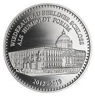 Die Münze Berlin gibt diese neue Silbermedaille aus: