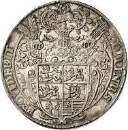 Lot 3001: Braunschweig-Harburg. Wilhelm, 1603-1642. Löser of 1 1/2 reichstalers no date (1618/19), Harburg. Gießener Münzhandlung 10 (1977), 313a. Extremely rare. Extremely fine. Estimate: 30,000,- euros. Hammer price: 90,000,- euros.