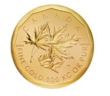 Haben Sie diese Münze gesehen? Big Maple Leaf. © Staatliche Museen zu Berlin, Münzkabinett; Foto: Reinhard Saczewski.