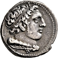 Lot 68: Roman Republic. Anonym. Didrachm, 269 BC, Rome. Good very fine.