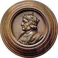 Los 1227: Habsburgische Kron- und Erblande. Holzmedaille. Kaiser Maximilian I. Taxe: 5.000 EUR.