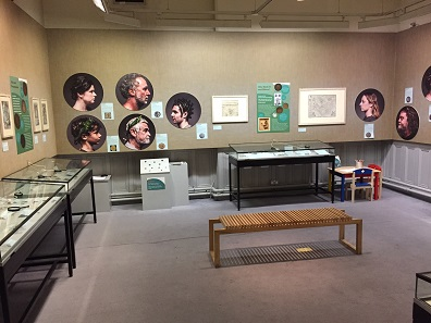 Minted: Making Money and Meaning in the Grosvenor Museum's temporary exhibition space. Photo: Henry Flynn.