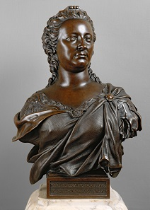 Maria Theresia. Büste. Matthäus Donner, Wien, 1750. Bronze. Wien, Kunsthistorisches Museum, Kunstkammer. Inv.-Nr. KK 6142. © KHM-Museumsverband.
