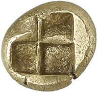 No. 233. Phokaia. El-Hekte, 518 B. C. Bodenstedt 30. Extremely fine. Estimate: 1,500 Euros. Final price: 17,250 Euros.