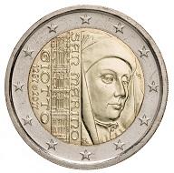 Die neue 2-Euro-Münze von San Marino wurde von Luciana De Simoni entworfen (Vorderseite) und wird in einer Auflage von 70.500 Exemplaren ausgegeben.