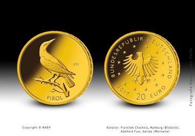 20-Euro-Goldmünze