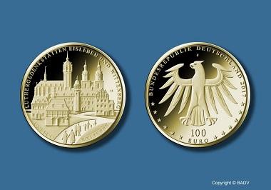 100-Euro-Goldmünze