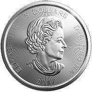Canada / 5 Dollars / Silver .9999 / 1 oz / 38mm / Design: Emily Damstra / Mintage: 500,000.