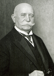Ferdinand von Zeppelin, 1917. Quelle: Nicola Perscheid - Staatsbibliothek zu Berlin - Preußischer Kulturbesitz / CC BY-SA 3.0