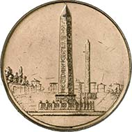 At Gorny & Mosch's last sale, this unspectacular bronze medal of 1909 realized 17.250 Euro.