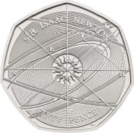 Great Britain / 0.5 GBP / Cupro-Nickel / 8.00g / 27.30mm / Design: Jody Clark (obverse), Aaron West (reverse).