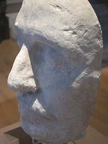 Death mask of Oliver Cromwell. Photo: UK.