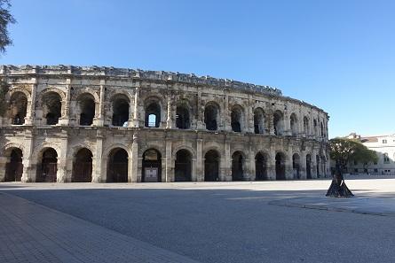 Amphitheatre in Nîmes. Photo: KW.
