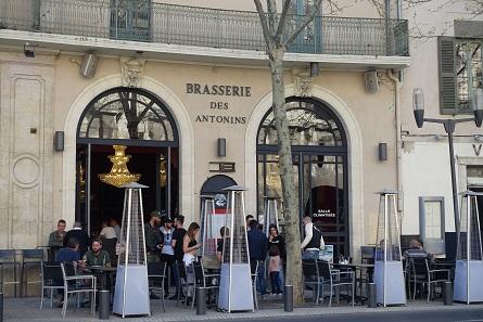 Brasserie des Antonins. Photo: KW.