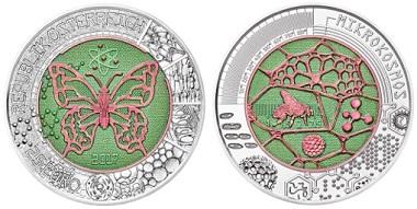 Die Silber-Niob-Münze
