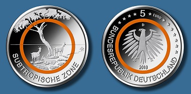 5-euro coin 2018