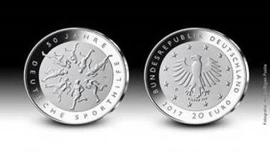 Die neue 20-Euro-Gedenkmünze