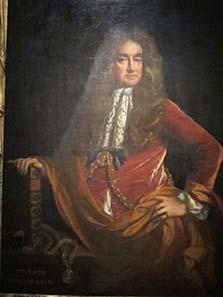 Elias Ashmole, painting of John Riley. Photo: UK.