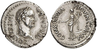 Galba, 68-69. Denarius, 68, unknown mint in Spain (Tarraco?). From Künker auction sale 280 (2016), No. 513.