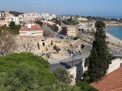 The Roman theatre of Tarragona. Photo: KW.