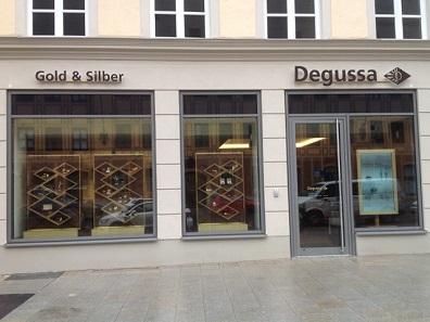 Degussa-Niederlassung Augsburg.