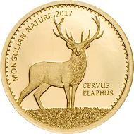 Mongolia / 1000 Togrog / Gold .9999 / 0.5 g / 11 mm / Mintage: 15,000.
