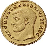 Lot 627: Roman Empire. Maxentius, 307-312. Quaternio, circa 308. Extremely fine. Estimate: 250,000 CHF.