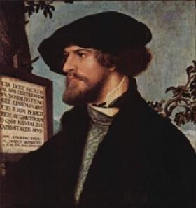Bonifacius Amerbach. Painting by Hans Holbein Junior. Kunstmuseum Basel. Source: Wikipedia.