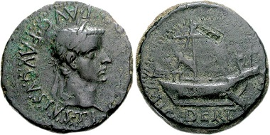 Dertosa-Tortosa. Tiberius, 14-37. Bronze. From CNG auction sale 76 (2007), 1016.