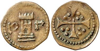 Königreich von Valencia. Senyal, Tortosa, um 1470. Aus Auktion Aureo & Calicó 259 (2014), Nr. 794.