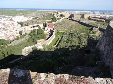 Philipp II of Spain expanded the castle of Sagunto. Photo: KW.