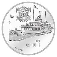 Schweiz / 20 CHF / .835 Silber / 20 g / 33 mm / Design: Ueli Colombi / Auflage: 30.000 (unzirkuliert), 5.000 (Polierte Platte).