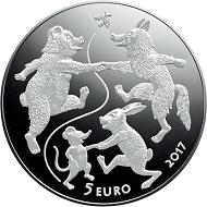Latvian 5-euro silver collector coin