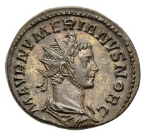 Lot 82: Roman Coins. Empire. Numerianus, 283-284. As Caesar under Carinus. Aurelianus, Lugdunum, 283. Good extremely fine. Estimate: 90 EUR.