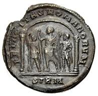 Constantius II. Caesar, 317-337. Miliarense, Sirmium. Aus Auktion Münzen & Medaillen 45 (9. Juni 2017), Nr. 120.