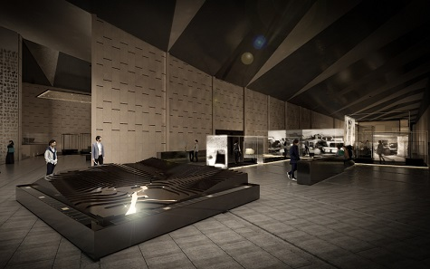 GEM – The TUT gallery Discovery of the Grand Egyptian Museum. Image: Atelier Brückner.